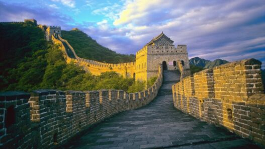 China Asia Great Wall of China Great Wall Beijing Great Wall near Mutianyu Asia landscape historic hills UN